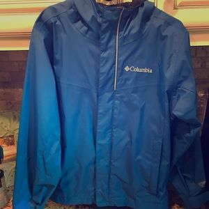 Columbia Omni-Tech rain jacket, youth XS (6/7)
